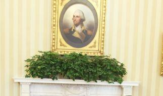 Hariri und Obama (Foto)