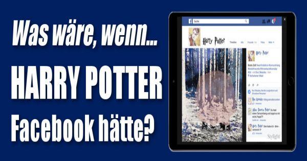 harry potter was w re wenn harry potter einen facebook account h tte. Black Bedroom Furniture Sets. Home Design Ideas