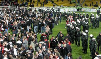 Harte Strafe gegen Eintracht Frankfurt bestätigt (Foto)