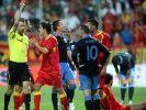 Harte Strafe: Rooney für EM-Vorrunde gesperrt (Foto)