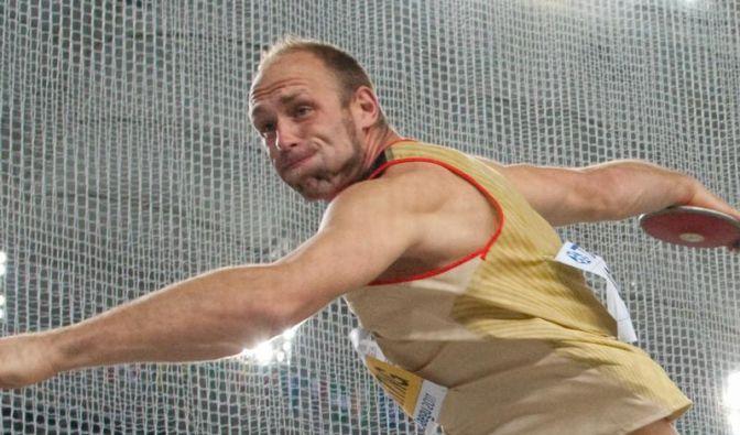 Harting wirft - Erstes Olympia-Gold seit 2000 winkt (Foto)