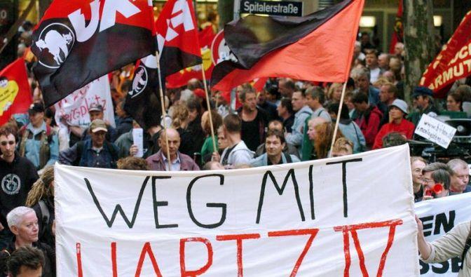 Hartz-IV-Proteste (Foto)