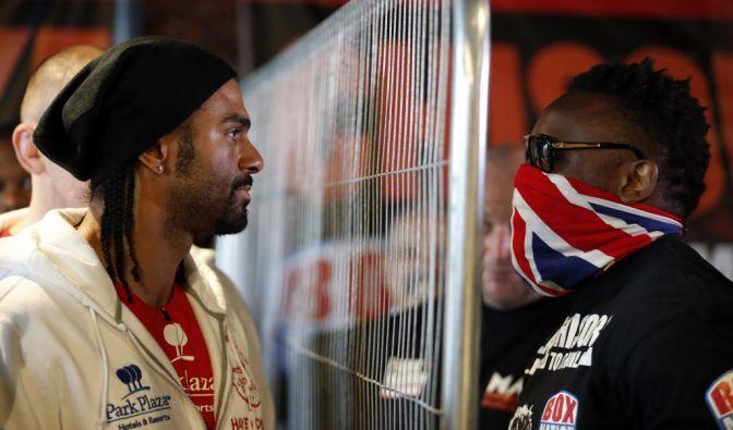 Hass-Duell: David Haye kämpft gegen Derek Chisora. (Foto)
