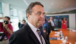 Hat dem Druck nicht stand gehalten: Ex-Innen- und nun auch Ex-Agrarminister Hans-Peter Friedrich. (Foto)