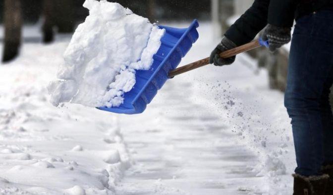 schnee wegräumen