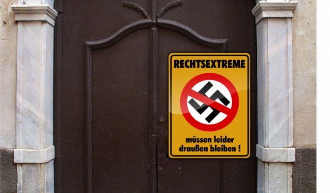 Hausverbot für Rechtsextreme (Foto)