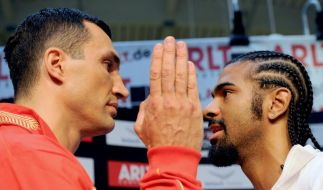 Haye vs. Klitschko (Foto)