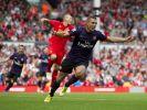 «He scores, when he wants»: Lukas Podolski ist auf dem besten Wege, der neue Held der Arsenal-Fans zu werden. (Foto)
