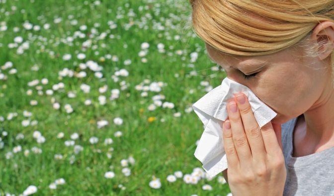 Heftiger Niesreiz, Fließschnupfen und oft auch Juckreiz in Augen, Nase und im Rachen sind typische Heuschnupfensymptome. (Foto)