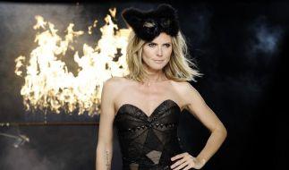 Heidi Klum bei Germany's Next Topmodel (Foto)