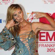 Heidi Klum hatte ihren Spaß bei den MTV European Music Awards.
