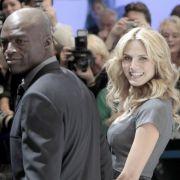 Heidi Klum ist nach ihrer Trennung von Seal gut drauf: «Ich sehe nach vorne, konzentriere mich auf meine Familie, und ich muss sagen, ich bin glücklich.»