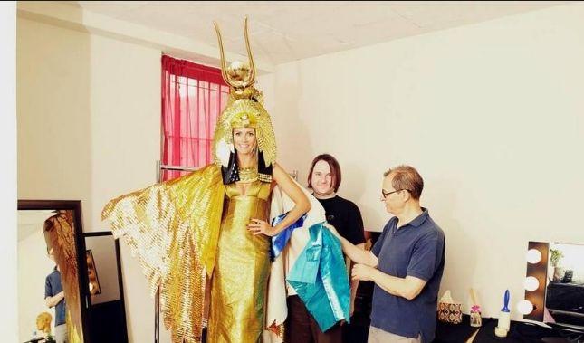Heidi Klum will sich zu Halloween in Cleopatra verwandeln. (Foto)