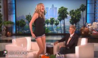 Heißer Strip bei Ellen Degeneres