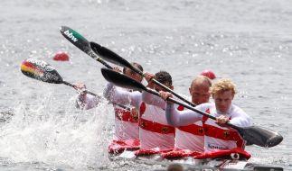 Heim-Weltcup: Zwei Siege für deutsche Kanuten (Foto)