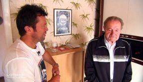Heimatbesuch bei Lothar immer am Ball: Papa Matthäus ist von Lothars Lebenswandel nicht begeistert. (Foto)