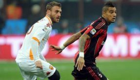 Heimpleite für AC Mailand - 0:1 gegen AS Rom (Foto)