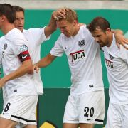 Ein enttäuschendes Unentschieden! Die Begegnung zwischen Münster und Karlsruhe endet punktgleich (Foto)