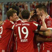 5 Tore für FC Bayern: Ein Kantersieg über Freiburg (Foto)