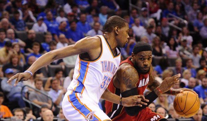 Heißes NBA-Finale: Donnerschlag oder Hitzewelle? (Foto)