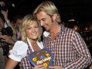 Helene Fischer und Florian Silbereisen beim Wiesn Treff 2009. (Foto)
