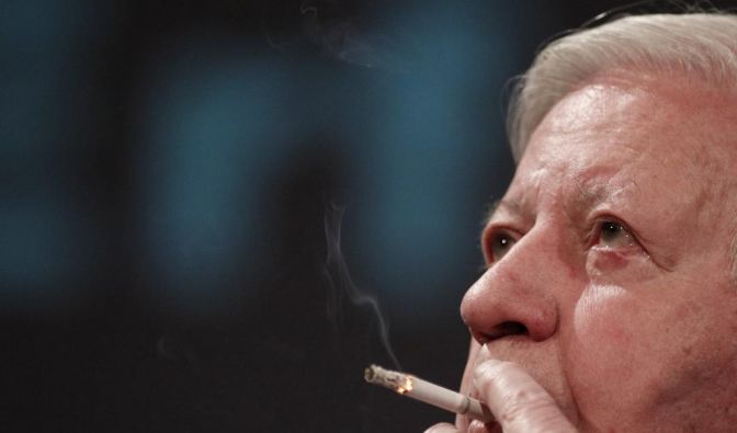 Helmut Schmidt  (Foto)