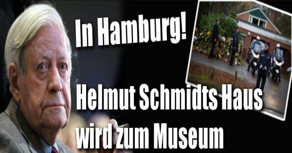 F 252 R Besucher Ge 246 Ffnet Helmut Schmidts Haus Wird Zum