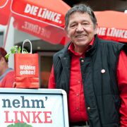 Mit seinen 73 Jahren ist Helmut Schulz der älteste Kandidat auf ein Mandat im nordrhein-westfälischen Landtag.