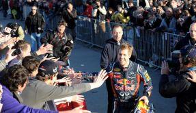 Heppenheim feiert Sebastian Vettel (Foto)