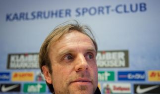 «Herkules-Aufgabe»: Scharinger soll KSC retten (Foto)