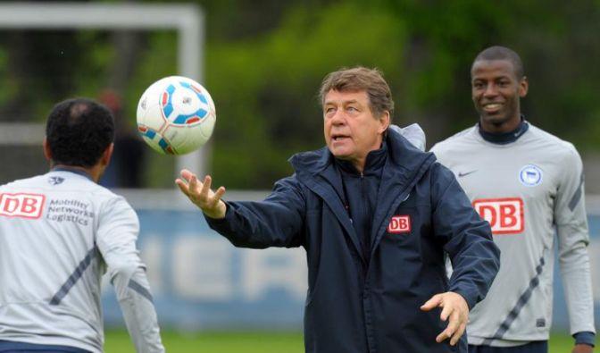 Hertha BSC trainiert in Berlin - Vier Spieler fehlen (Foto)