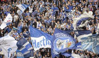 Hertha-Fans glauben an ihre Mannschaft (Foto)