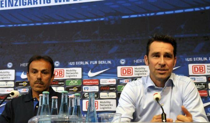 Hertha kämpft ums Image - Preetz: «Nur Erfolg hilft» (Foto)