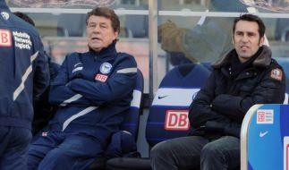 Hertha-Manager Preetz: Rehhagel «kein Irrtum» (Foto)