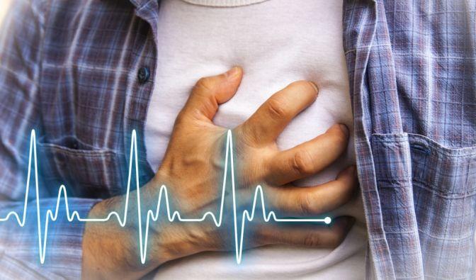Herzinfarkte kündigen sich durch Symptome bereits Tage und Wochen vorher an. (Foto)
