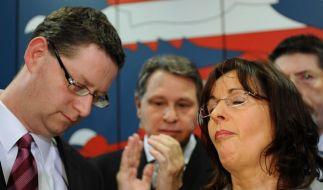 Hessen: Triumph der FDP, Absturz der SPD (Foto)