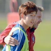 Heung-Min Son war an der HSV-Schlägerei beteiligt und wurde von Trainer Thorsten Fink in die Kabine geschickt.