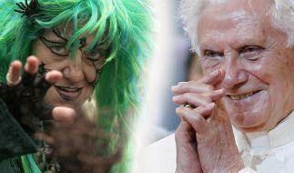 Hexen vs. Papst - beim Berlin-Besuch kommt es zum Showdown (Foto)