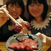 Hier handelt es sich um Rindfleisch, doch ein Japaner servierte in Tokio sein eigenes Gemächt.