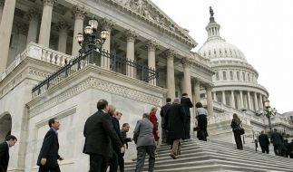 Hier spielt sich das Schuldendrama ab: das Kapitol in Washington (Foto)