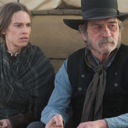 """Hilary Swank und Tommy Lee Jones brillieren im Western """"The Homesman"""". (Foto)"""