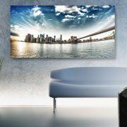 Hingucker Alu-Dibond: Die pure Eleganz des Materials Aluminium wirkt besonders edel an Ihren Wänden.