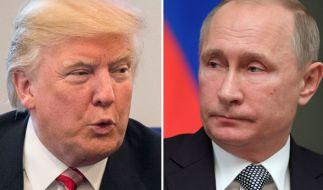 Historiker Ian Kershaw warnt vor einem Zusammentreffen von Donald Trump und Wladimir Putin. (Foto)