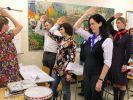 Historische Unterrichtsstunde im Schulmuseum (Foto)