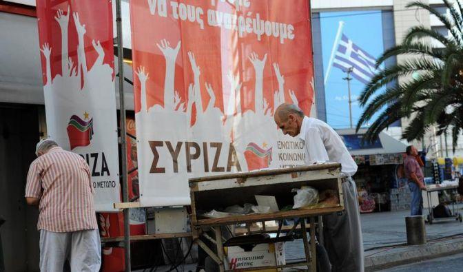 Historische Wahl in Griechenland (Foto)
