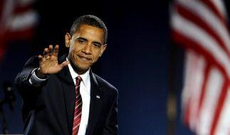 Historischer Sieg: Obama zieht ins Weiße Haus ein (Foto)