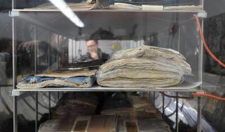 Historisches Archiv: Erste Originale wieder nutzbar (Foto)