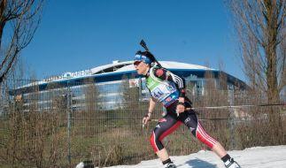 Hitzer/Graf bei Frühlings-Biathlon-Show gefeiert (Foto)