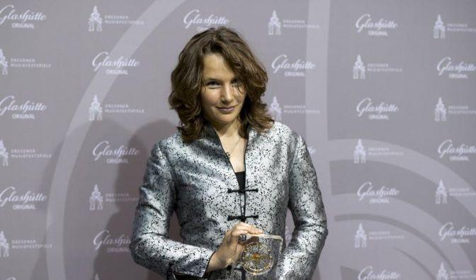 Hélène Grimaud erhält Preis der Dresdner Musikfestspiele (Foto)