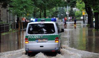 Hochwasser in Zittau (Foto)